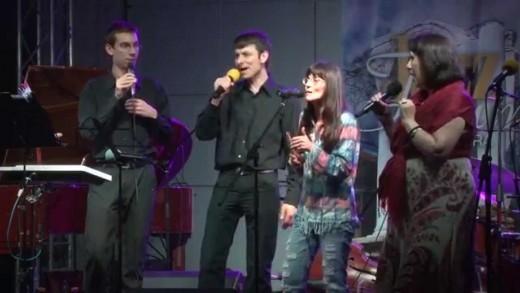 """Вокален ансамбъл """"Спектрум"""" с ръководител Константин Бейков"""