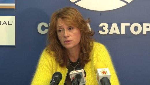 Красимира Чахова ще работи за масовия спорт