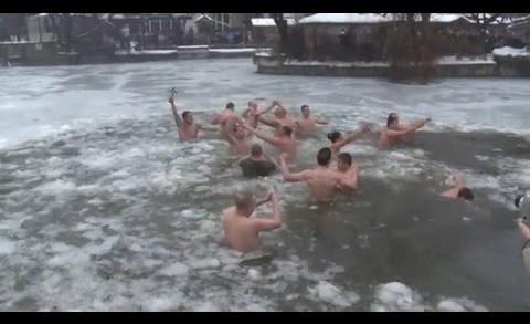 Леден Йордановден в Стара Загора
