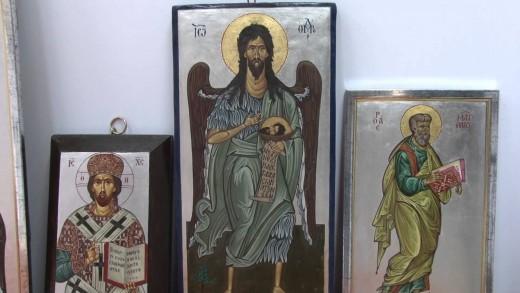 """Донка Миткова откри изложба икони и живопис арт галерия """"Недев"""""""