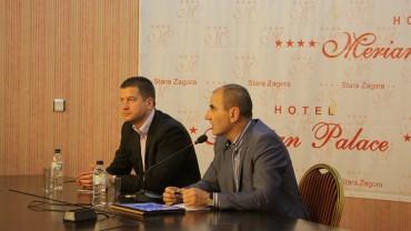 Цветан Цветанов, зам.-председател на ГЕРБ: В Стара Загора се усещат реалните резултати от реално свършената работа