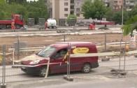Кръговото кръстовище се изгражда в срок