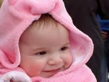 bebe v rozovo
