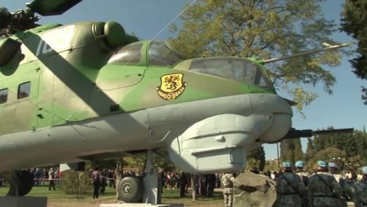 """Откриха военен мемориал в парк """"Артилерийски"""""""