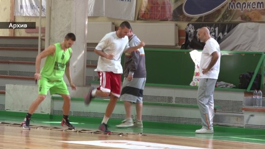 "Баскетболистите на ""Берое"" се готвят за двубоя с ""Академик Бултекс 99"""