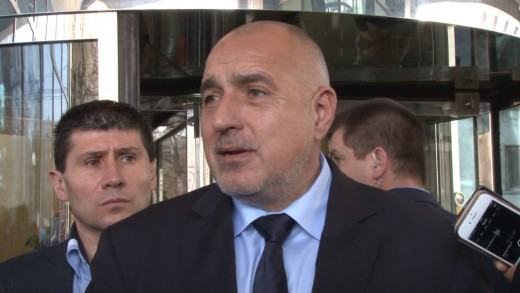 "Б. Борисов за водача Емил Христов: ""Казвам го със хумор, той сваля изтребители"""