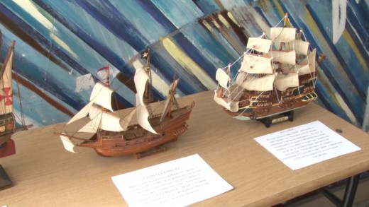 Изложба на корабни макети радва старозагорски ученици