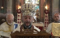 """Старозагорският митрополит извърши ритуала """"Умиване"""""""