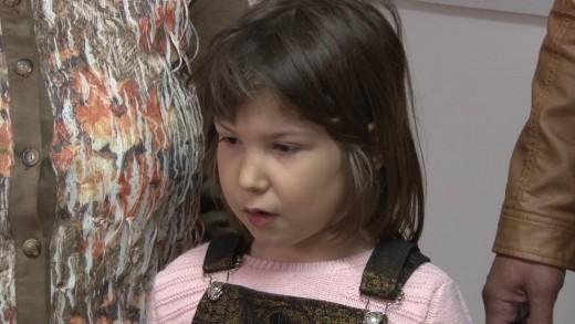 Семейство подреди изложба в детска градина