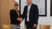 С два златни медала се завърна Ангелина Кръстева от Европейското първенство по канадска борба в Катовице