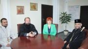 Митрополит Киприан се срещна с Областния управител Гергана Микова