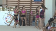 """Силно представяне на състезателките от  клуб  """"Спортна гимнастика"""""""