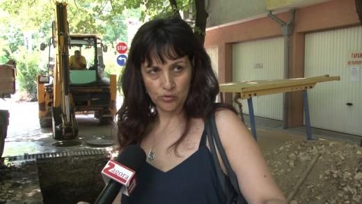 Поредна авария отлага асфалтирането на ул. Раковска