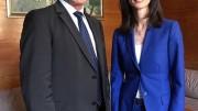 Народният представител Емил Христов се срещна с еврокомисаря Мария Габриел