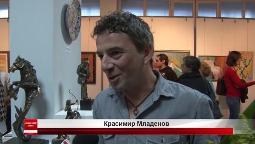 Красимир Младенов е носителят на Голямата награда на Есенния салон