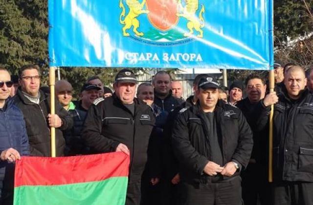 Служителите на затвори на протест днес