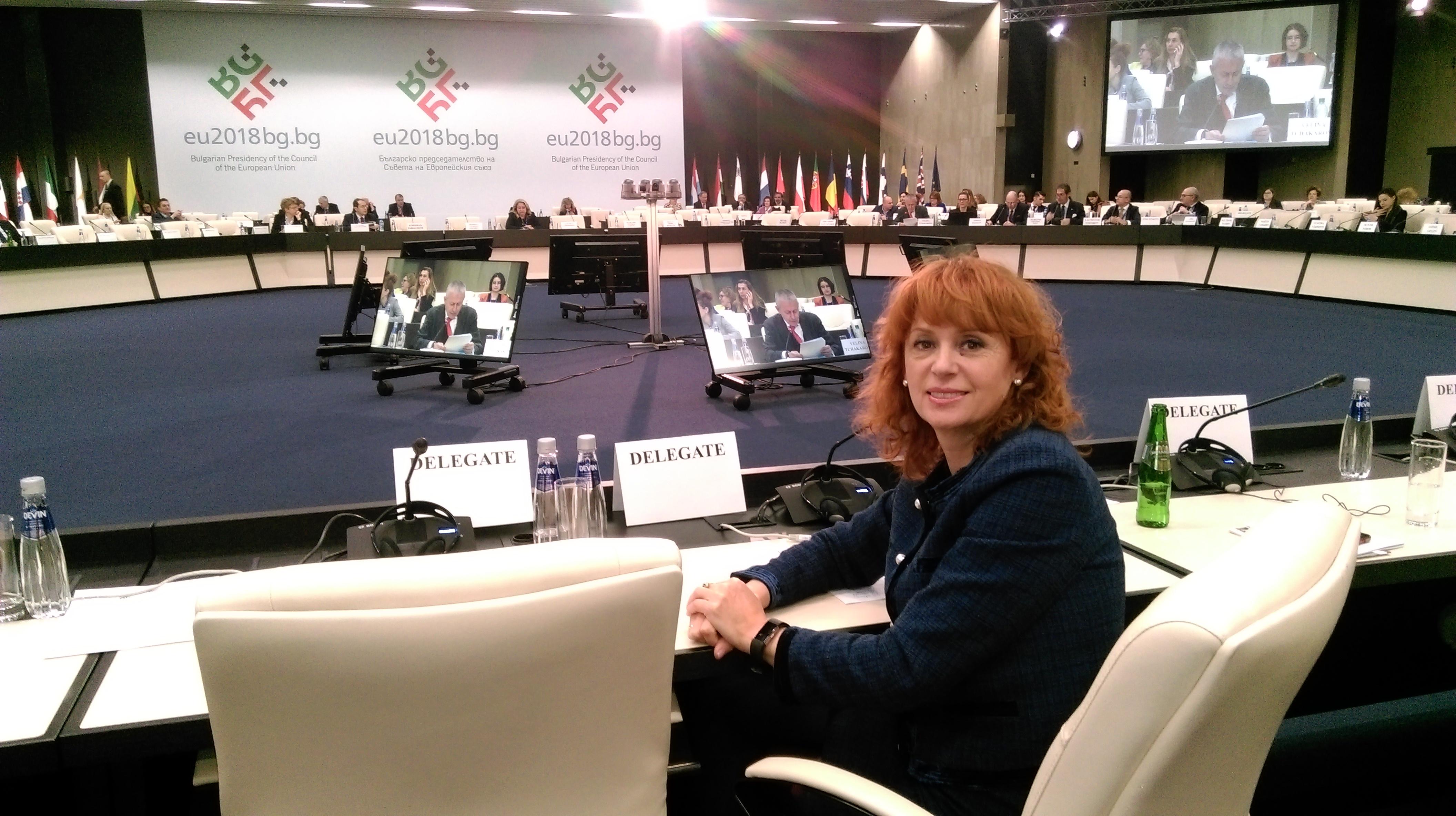 Заместник-кметът Красимира Чахова участва в среща на високо ниво на министрите на туризма от ЕС