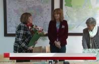 Колегата Недялка Филипова с поздравителен адрес по повод 70-годишен юбилей