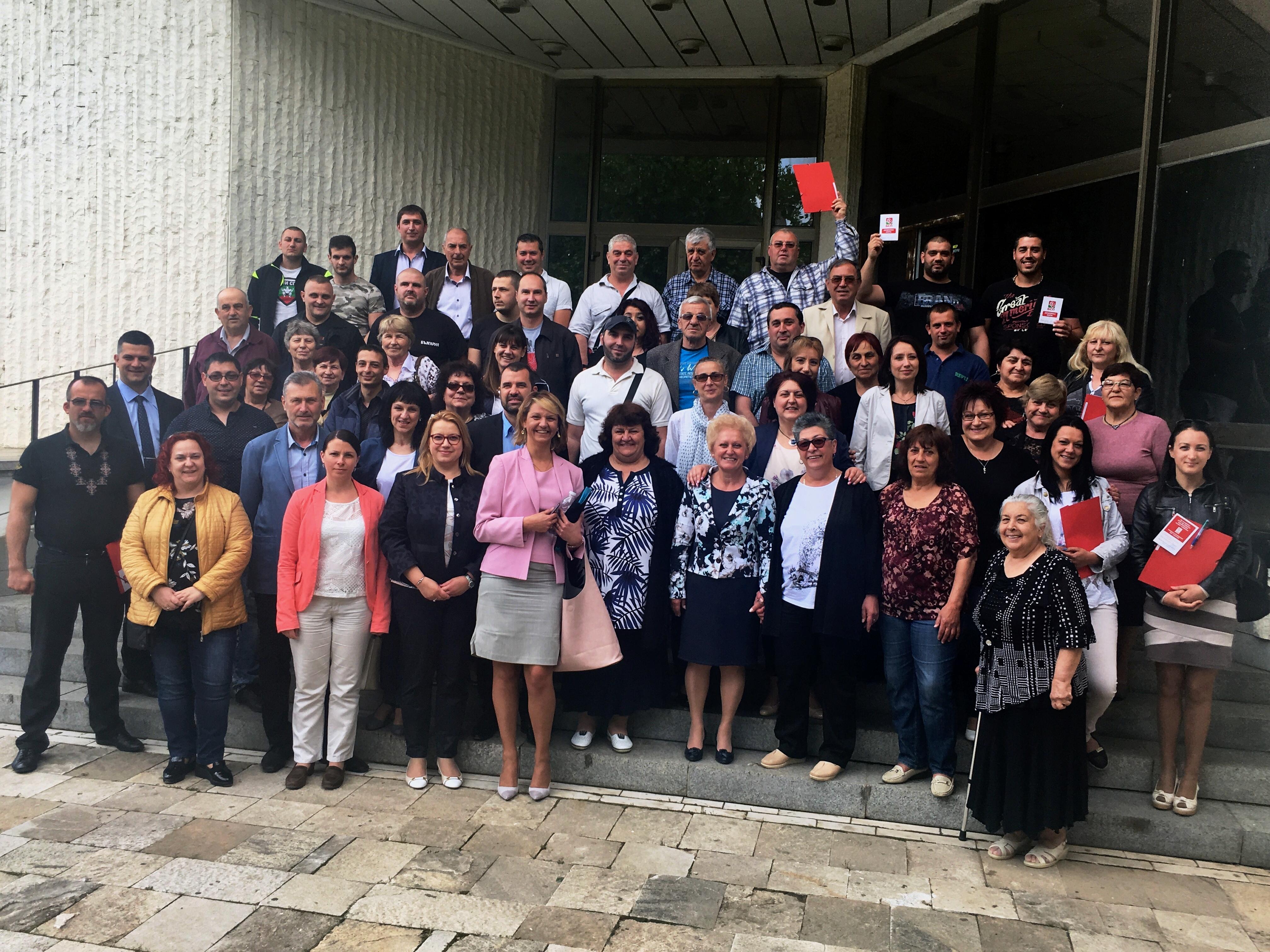 Румяна Друмева е новият председател на БСП в Казанлък