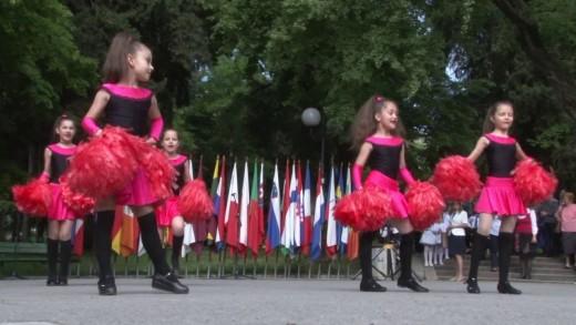 Децата на Стара Загора поздравиха Европа