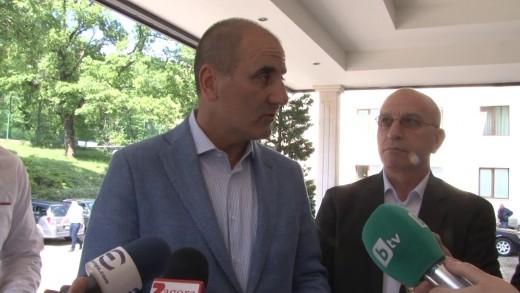 Цв. Цветанов пред медии в Стара Загора: за местните избори, печелившите политически формули и дадени обещания