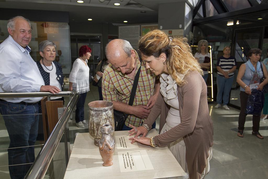 Незрящи влязоха в Регионалния исторически музей в Стара Загора