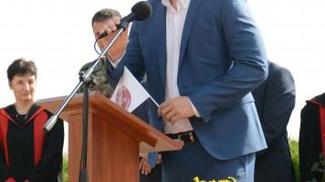 Кметът Живко Тодоров приветства преподавателите и студентите в старозагорската Алма матер