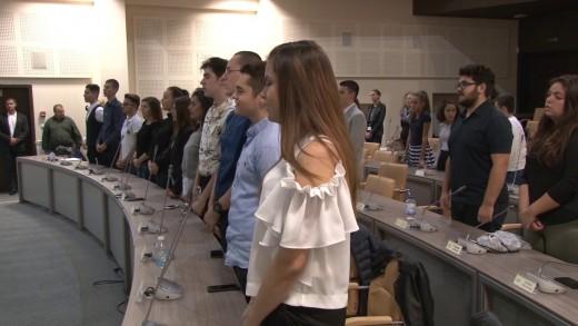 Тържествена сесия на Младежки общински съвет Стара Загора мандат 2018-2019 година