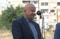 """Директно в програмата на ТВ Загора – първа копка на улица """"Петкана Захариева"""" в кв. Железник."""