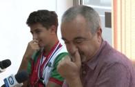 Среща на кмета на Стара Загора Живко Тодоров с медалистите от математически олимпиади от лятото