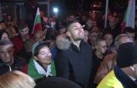 Протест след отчета на кмета пред Мериан Палас