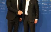 Цветанов и кметове на ГЕРБ на среща с Манфред Вебер