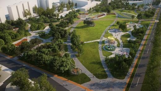 """Пресконференция на кмета Живко Тодоров за представяне на проекта за разширение на парк """"Артилерийски"""""""