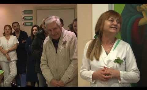 """За 10-ти път Болница """"Тракия"""" отбеляза Бабинден с ритуал """"Измиване на ръцете на акушера"""""""