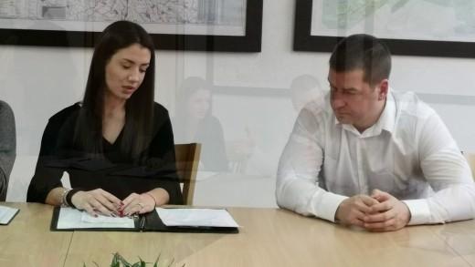 Среща на кмета Живко Тодоров и Младежки общински съвет