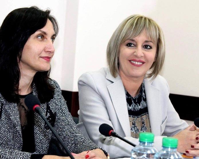 Мая Манолова на среща със старозагорци