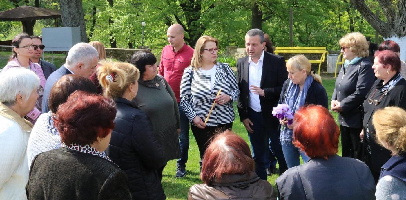 Елена Йончева посети Старозагорския край