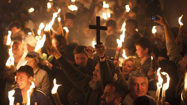 Стара Загора посреща Благодатния огън