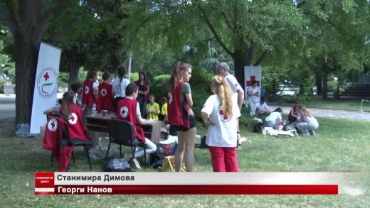 Национално ученическо състезание за спасители