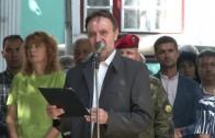 Среща на кмета Живко Тодоров с доброволци, които се включиха в отстраняването на последиците от разразилата се буря в града на 31 май 2019
