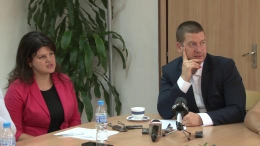 """Пресконференция на кмета Живко Тодоров и групата общински съветници от Коалиция """"Народен съюз"""""""