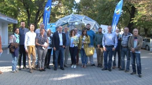 Евродепутатът от Демократична България Радан Кънев на среща със старозагорци