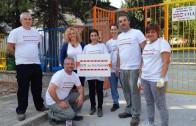 """""""Добряци"""" помагаха в старозагорска детска градина"""