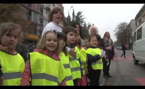 """Флашмоб на деца от ДГ """"Светулка"""""""