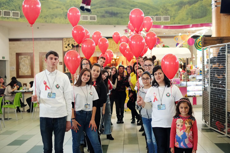 """Младежка кампания """"Дари, за да зарадваш"""" в Стара Загора"""
