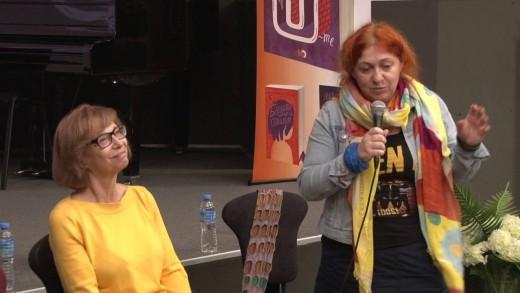 """Представяне на книгата """"Истории от 90-те"""" – неочаквано пътешествие, което ни връща дълбоко в света на спомените. Представят Веселина Седларска, Катя Атанасова и Димитър Коцев."""