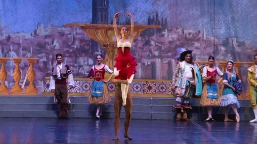 """Спектакълът на балета """"Дон Кихот"""" на Старозагорската опера на сцената на зала 1 на НДК"""