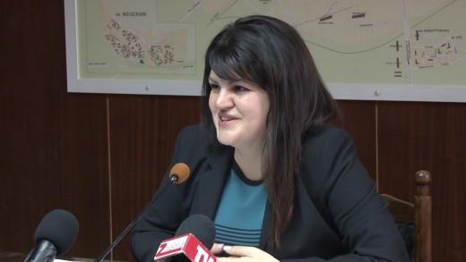 Пресконференция на председателя на ОбС Стара Загора Мария Динева по повод предстоящото на 30 януари заседание