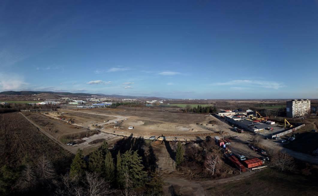 """Приключи изграждането на канализацията на Индустриална зона """"Загоре"""""""