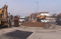 Кръговото кръстовище към кв. Кольо Ганчев готово следващата седмица